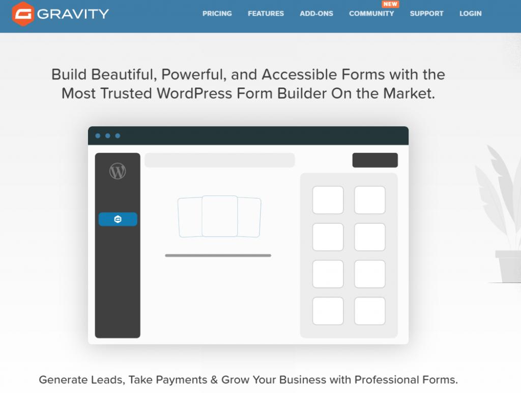 Gravity Forms WordPress Form