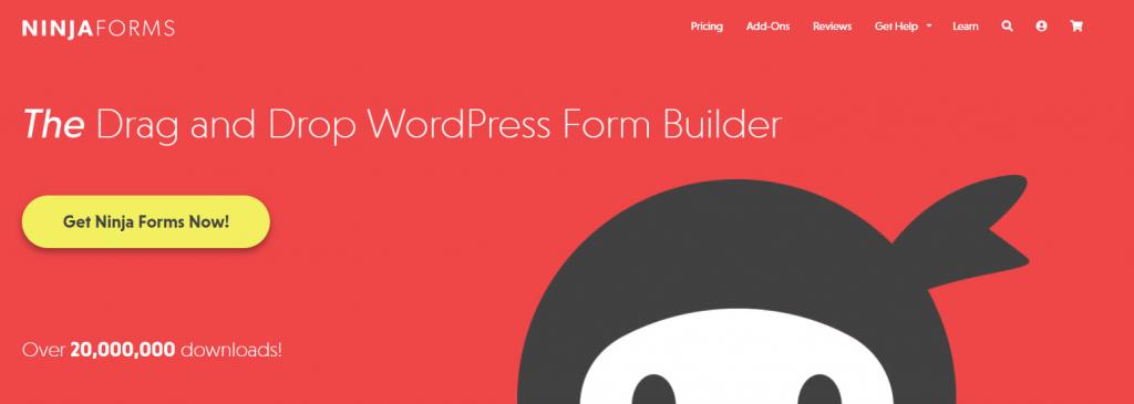 Ninja Forms WordPress Form