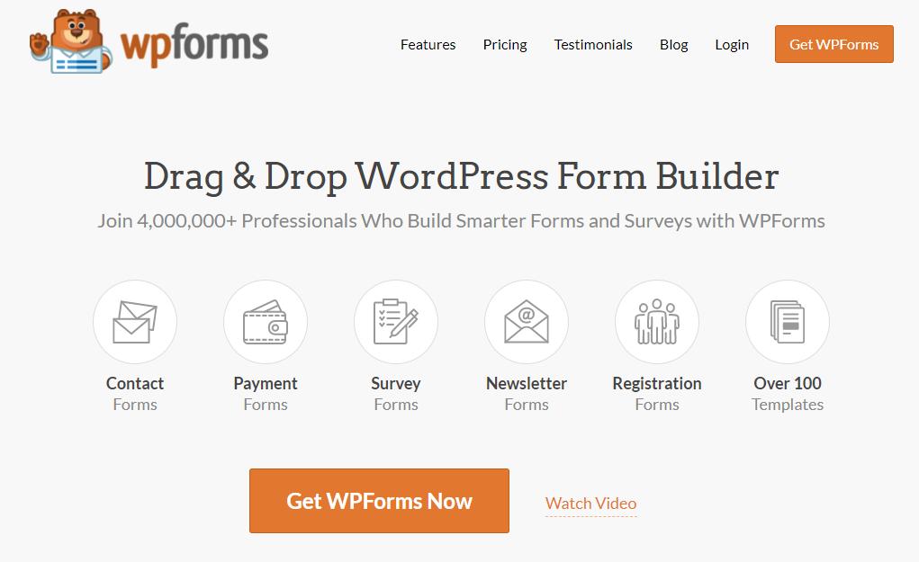 WP Forms WordPress Form