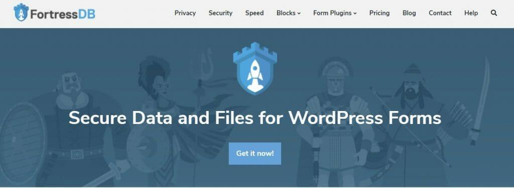 FortressDB secure WordPress database