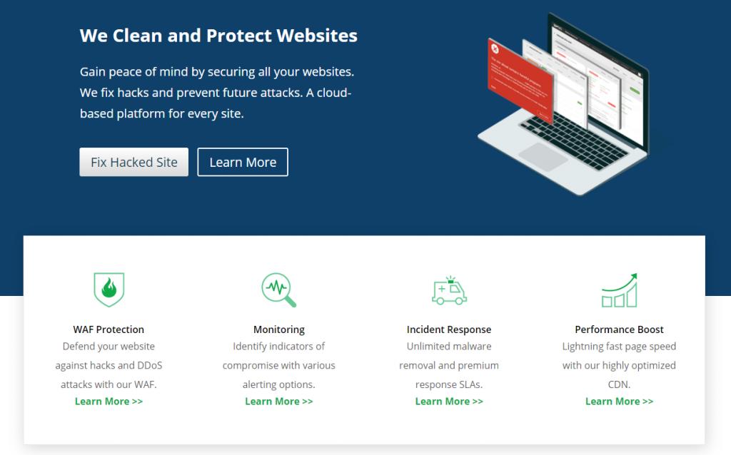 Sucuri WordPress hack fixes and prevention