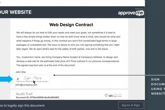 wordpress electronic signature hero1